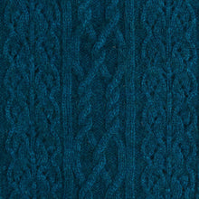 Load image into Gallery viewer, Possum Merino Polo Neck Jersey Lace Detail - McDonald Textiles