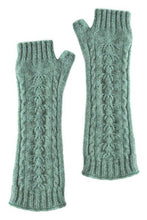 Load image into Gallery viewer, Possum Merino Fingerless Cable Glove - McDonald Textiles