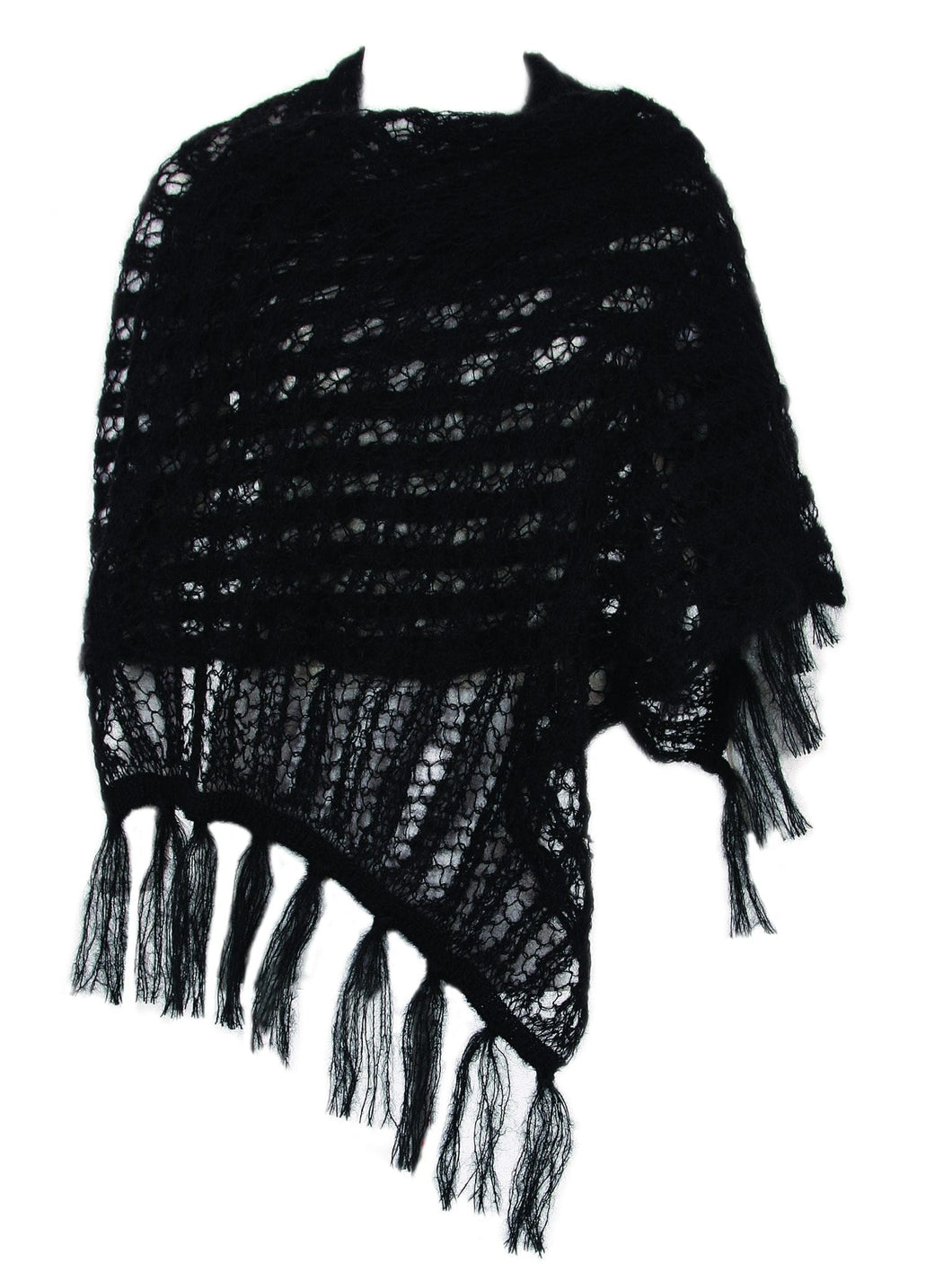 Mohair Wool Lace Shawl