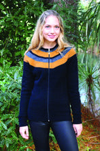 Load image into Gallery viewer, Possum Merino Taupo Jacket - Lothlorian Knitwear