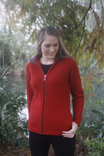 Load image into Gallery viewer, Possum Merino Aroha Jacket - Lothlorian Knitwear