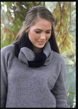 Load image into Gallery viewer, Possum Merino Plait Cowl - Lothlorian Knitwear