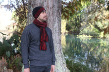 Load image into Gallery viewer, Possum Merino Morse Beanie - Lothlorian Knitwear
