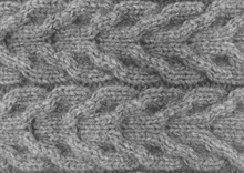 Load image into Gallery viewer, Possum Merino Cable Mitten - Lothlorian Knitwear