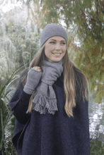 Load image into Gallery viewer, Possum Merino Plain Double Scarf - Lothlorian Knitwear|possum-boutique.co.nz