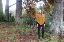 Load image into Gallery viewer, Possum Merino Plain Poncho - Lothlorian Knitwear