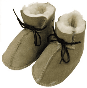 Sheepskin NZ Merino Wool Baby Booties - Possum Pam NZ