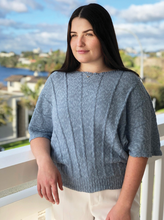 Load image into Gallery viewer, Cotton Linen Batwing Jumper - Lothlorian Knitwear