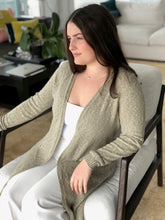 Load image into Gallery viewer, Cotton Linen Duster Coat - Lothlorian Knitwear