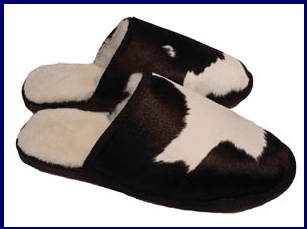 Calfskin Slippers NZ