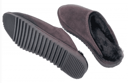 Sheepskin NZ Conway Scuff Slippers - Possum Pam NZ