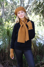 Load image into Gallery viewer, Alpaca Wool Dash Keyhole Scarf - Lothlorian Knitwear