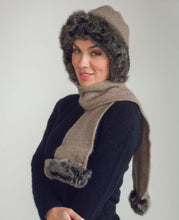 Load image into Gallery viewer, possum, merino fur hat, scarf|possum-boutique.co.nz