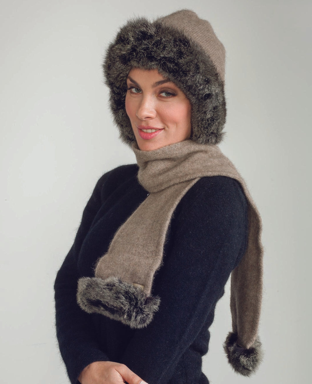 possum, merino fur hat, scarf|possum-boutique.co.nz