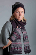 Load image into Gallery viewer, Possum Merino Fairisle Beanie - Koru Knitwear