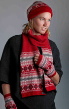 Load image into Gallery viewer, Possum Merino Fairisle Glovelets - Koru Knitwear