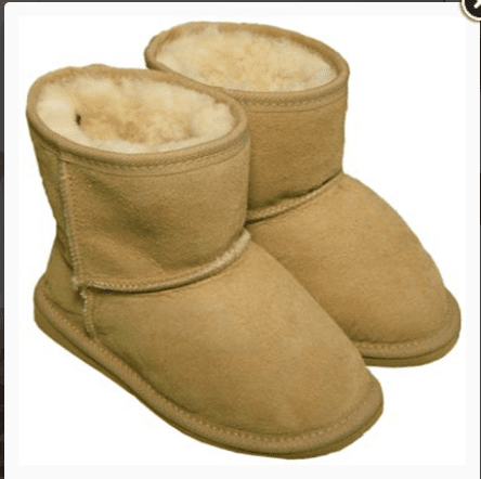 Sheepskin Childrens Kelly Boots-Possum Pam NZ|possum-boutique.co.nz