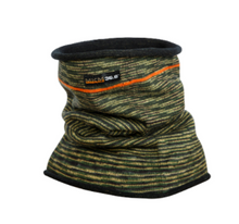 Load image into Gallery viewer, Wool Double Layer Camouflage Neck Warmer - MKM Knitwear