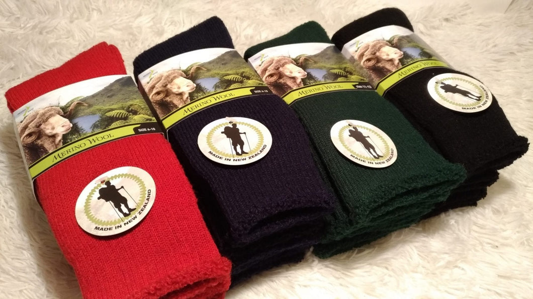 Merino Wool Sock | possum-boutique.co.nz