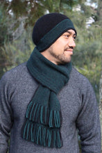 Load image into Gallery viewer, Possum Merino Morse Scarf - Lothlorian Knitwear