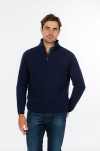 Possum Merino Half Zip Jumper - Native World Knitwear
