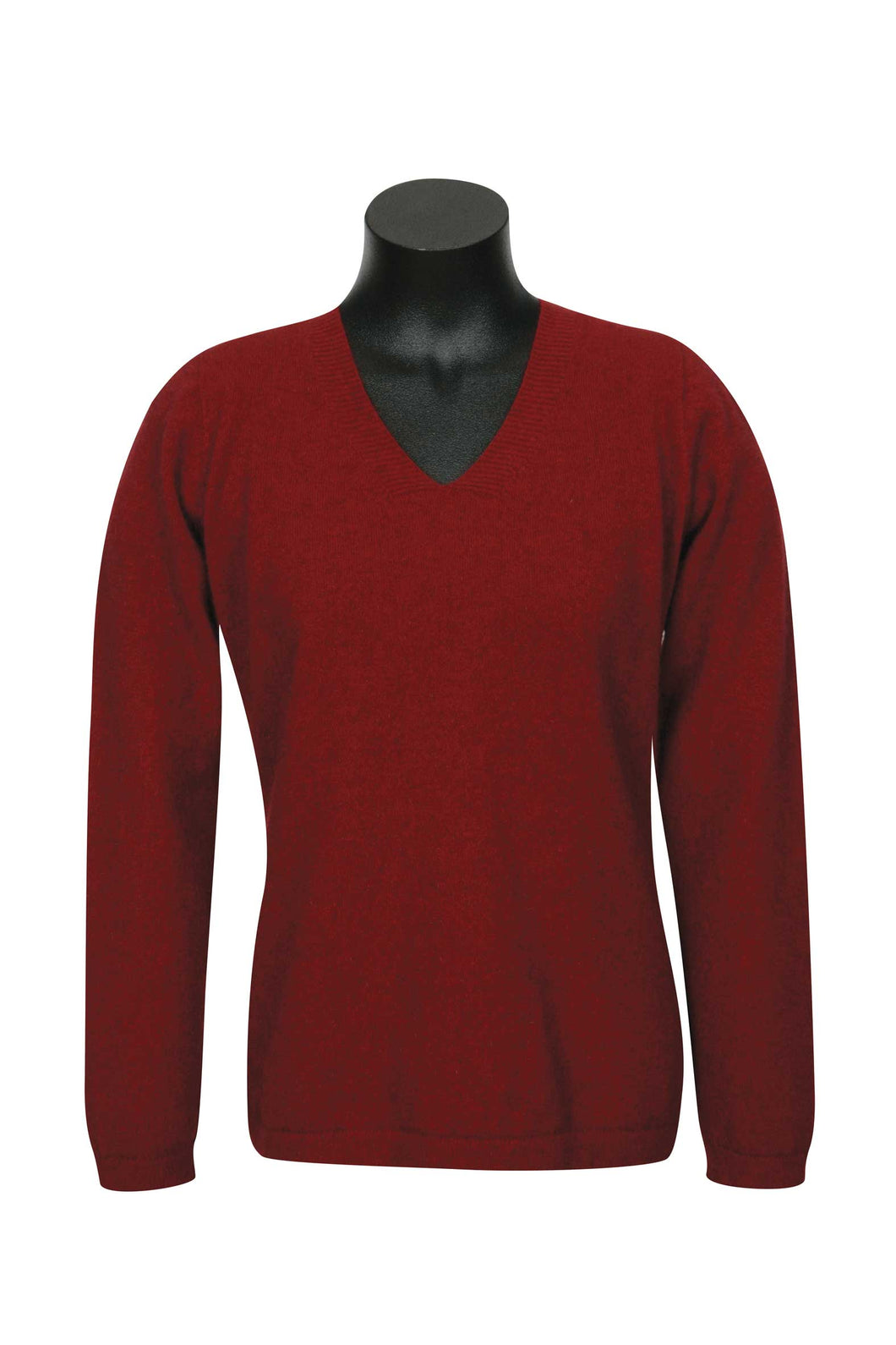 Possum Merino V Neck Plain Sweater-Native World|possum-boutique.co.nz