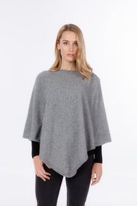 Possum Merino Poncho - Native World