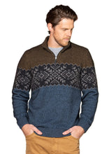 Load image into Gallery viewer, Possum Merino Avalanche Zip Neck - Noble Wilde