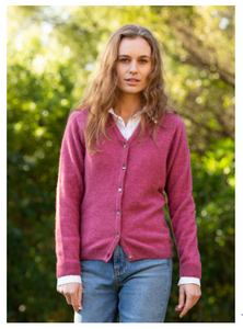 Possum Merino Kora Cardigan - Noble Wilde