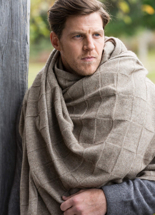 Possum Merino Queen Throw - Noble Wilde Knitwear