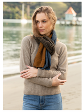 Load image into Gallery viewer, Possum Merino Madknit Scarf - Noble Wilde