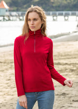 Load image into Gallery viewer, Merino Wool Half Zip Polo Neck - Noble Wilde