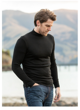 Load image into Gallery viewer, Merino Wool Turtle Neck Sweater - Noble Wilde