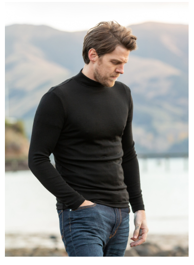 Merino Wool Turtle Neck Sweater - Noble Wilde