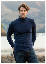 Load image into Gallery viewer, Merino Wool Marco Polo Neck Jumper - Noble Wilde