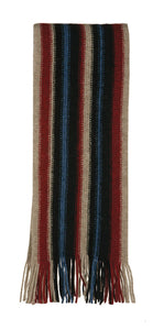Possum Merino Unisex Striped Scarf-Native World
