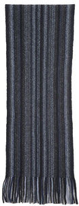 Possum Merino Multi Striped Scarf - Native World
