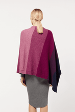 Load image into Gallery viewer, Possum Merino Ombre Poncho - McDonald Textiles