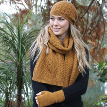 Load image into Gallery viewer, Possum Merino Opito Scarf NZ Made - Lothlorian Knitwear