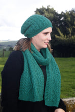 Load image into Gallery viewer, Possum Merino Opito Cable Beanie - Lothlorian Knitwear