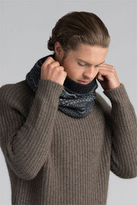 Possum Merino Peak Snood Merino Mink NZ Made