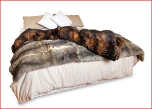 Possum Fur Throw - Possum Pam