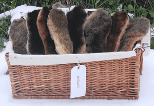 Possum Fur Inner Soles - Possum Pam NZ
