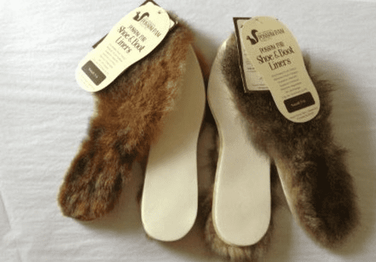Possum Fur Inner Soles - Possum Pam NZ|