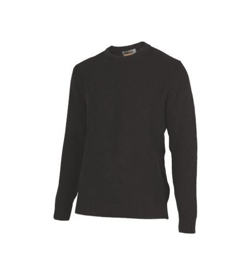 Merino Wool Backyard Crew Sweater-MKM Knitwear|possum-boutique.co.nz