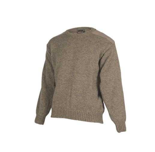 Possum Merino Ultimate Crew Sweater-MKM Knitwear