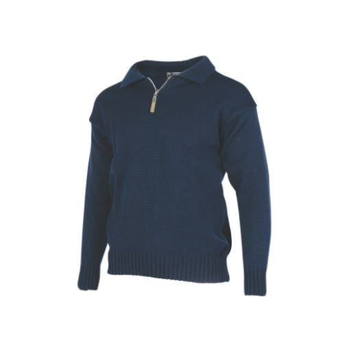 Merino Wool Workwear Sweater-MKM Knitwear