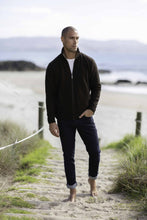 Load image into Gallery viewer, Possum Merino Zip Jacket with Pockets - Trilogy Knitwear