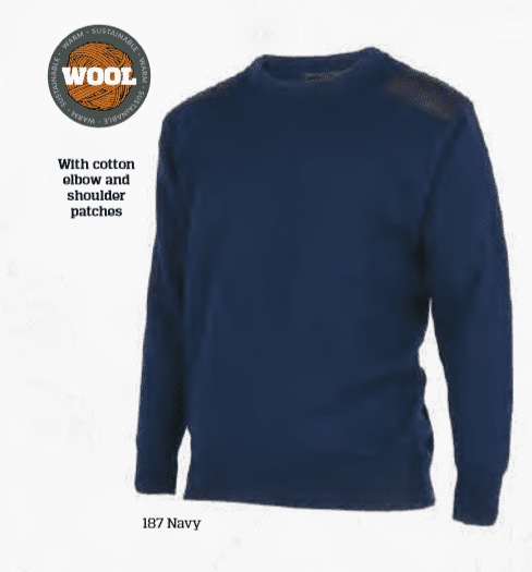 Merino Wool Survival Crew Sweater-MKM Knitwear|possum-boutique.co.nz