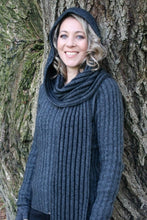 Load image into Gallery viewer, Possum Merino Hooded Scarf - Zinity Knitwear